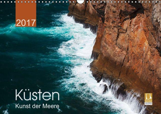 Küsten - Kunst der Meere - CALVENDO Kalender von Lucyna Koch