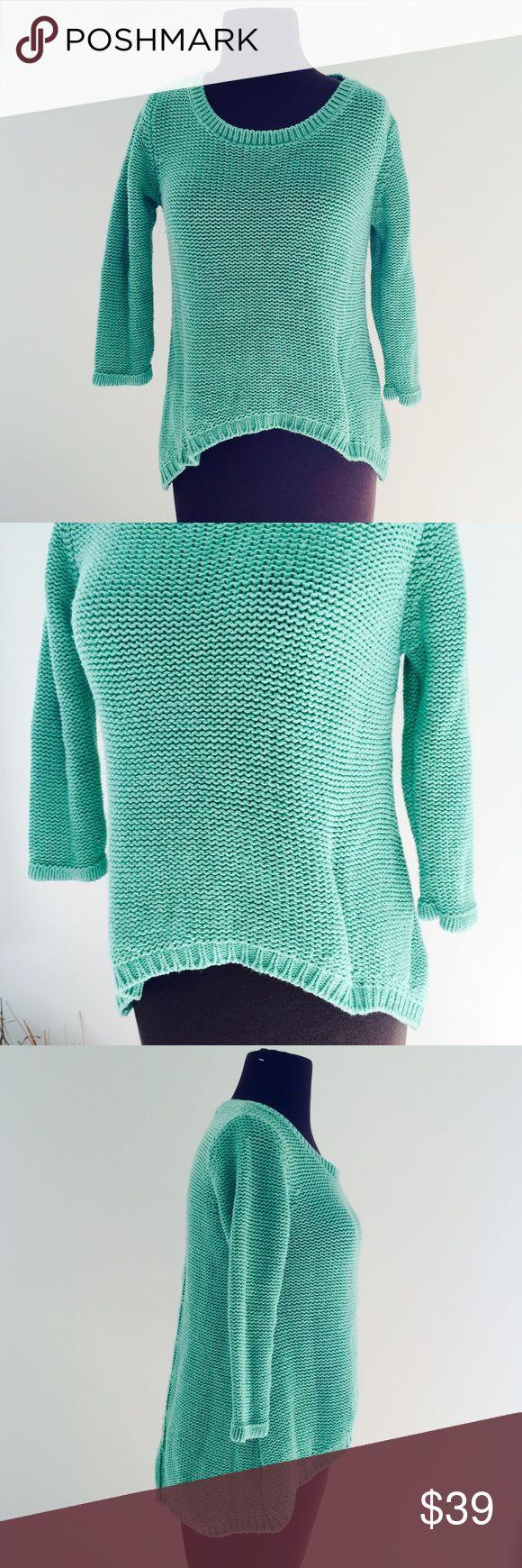 ❗️Zara Knit Hi-Lo Mint Sweater ❗️Zara Knit Hi-Lo Mint Sweater. In great condition size medium. Make an offer! I consider all reasonable offers on items & give great bundle deals! Winter cleanout sale ;-) Zara Sweaters