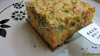 DIN SERTARUL CU REȚETE: Salată de boeuf
