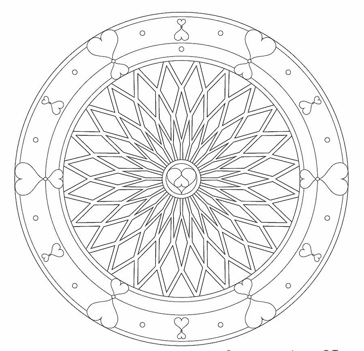 fractal coloring pages free - 761 best images about fractal mandala inspirations on