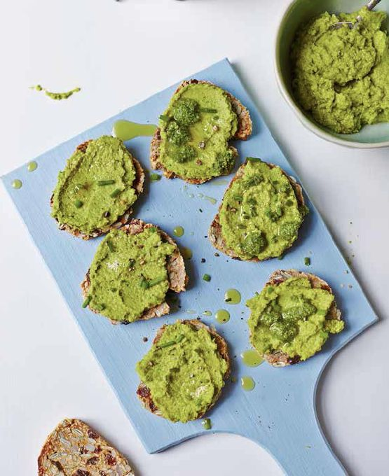 Pea, Mint and Broccoli Mash