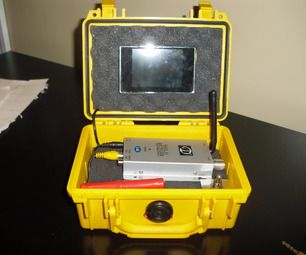 Portable Wireless Spy Cam!