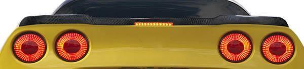 2005-2013 Chevrolet Corvette C6 Carbon Creations ZR Edition Wing Trunk Lid Spoiler - 1 Piece