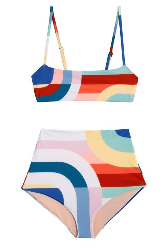 Mara Hoffman Swim - Meridian Cami Bikini | BONA DRAG