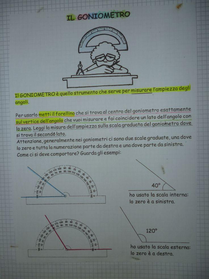 QUADERNO  GEOMETRIA  CLASSE IV^ 2