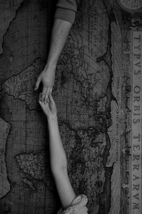 """""""I exist in two places, here and where you are.""""  Margaret Atwood"""
