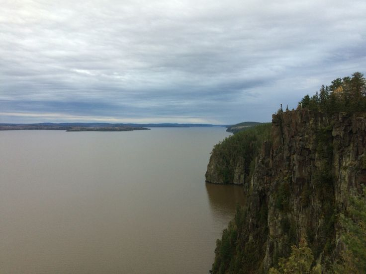 Devils rock in North Cobalt, ON. Temiskaming shores