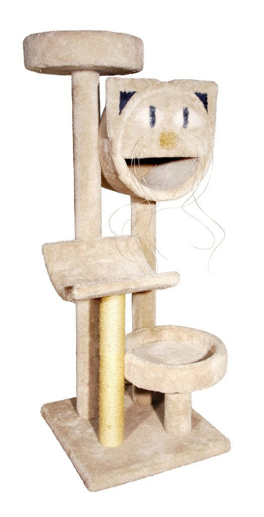 Superb (Limited Supply) Click Image Above: Molly Four Tier Sisal And Carpet Cat  Tree Burgundy
