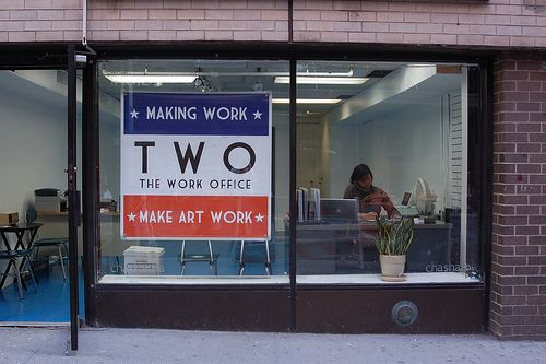 2009 Grantee - The Work Office - Photo courtesy of artists