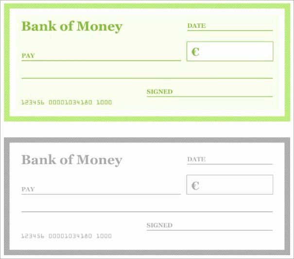 Blank Check Template Word Unique 7 Blank Check Templates For Microsoft Word Website Business Checks Blank Check Printable Checks