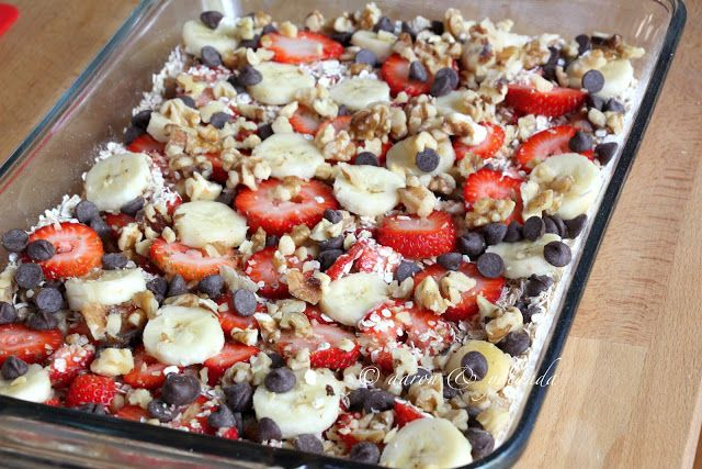 Inspired by Life: Baked Oatmeal Casserole