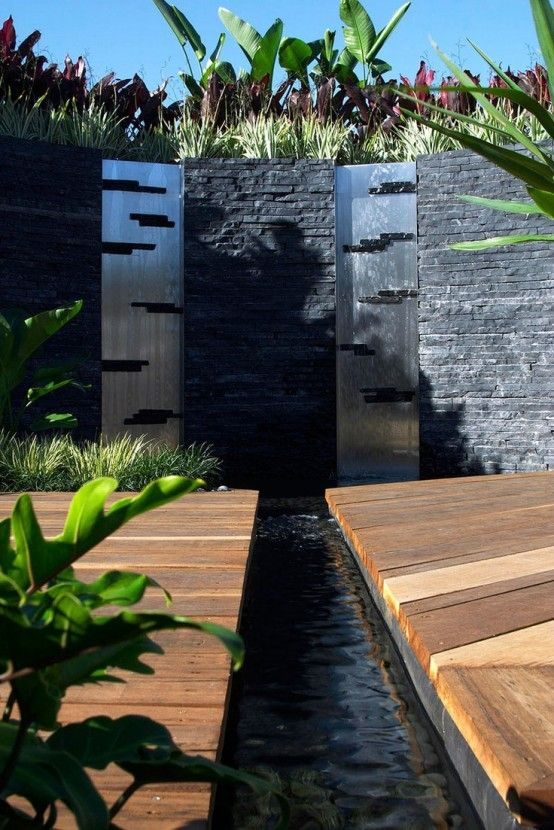 24 best water features images on Pinterest Water walls