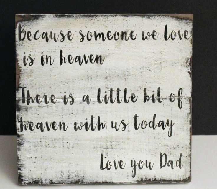 Wedding Memorial Rustic Wedding Sign - Rustic Wedding Sign - Because Someone We Love Is In Heaven Sign - Reception Sign - Ceremony Sign