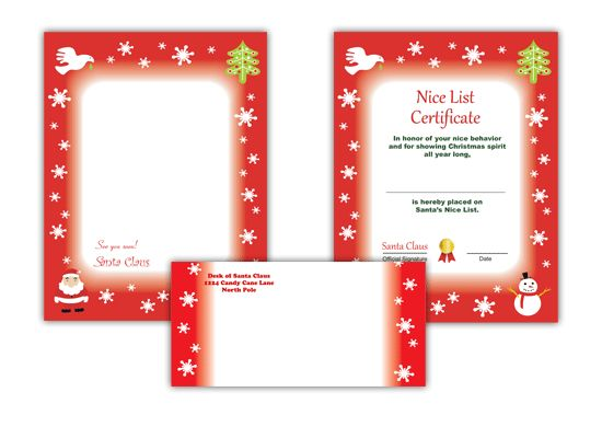 36 best Printable Santa Letters images on Pinterest Activities - microsoft word santa letter template