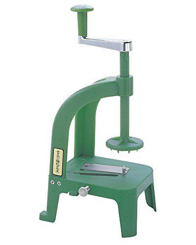 Japanese spiralizer. Benriner Cook's Help Vegetable Slicer (Professional Grade) Benriner http://www.amazon.co.uk/dp/B000BI6CZ8/ref=cm_sw_r_pi_dp_JWN2ub025P38E