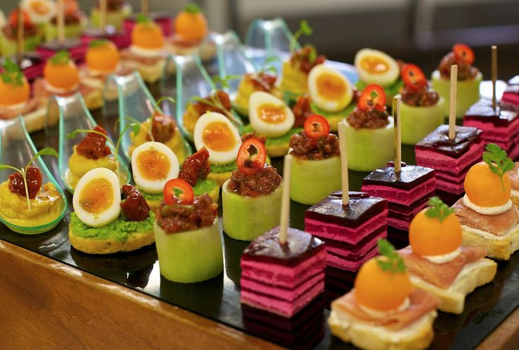 Luxury canapes google search fabulous food pinterest for Wedding canape ideas