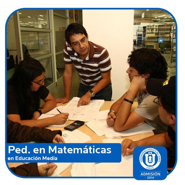 Pedagogía en Matemáticas en Educación Media