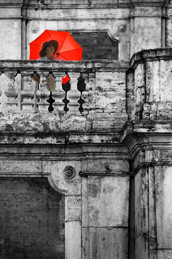 mijn dame met - De Rode Paraplu