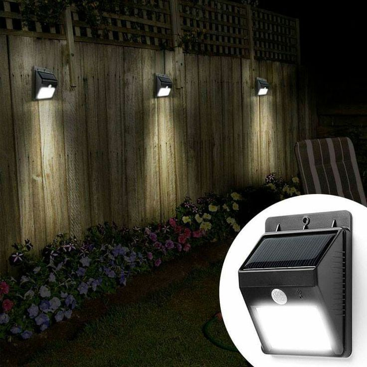 solar powered lights you can put anywhere and are motion activated