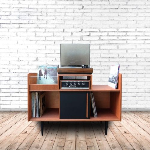 Best Meuble HiFi Images On Pinterest Vinyl Records Home And - Meuble hifi audiophile pour idees de deco de cuisine