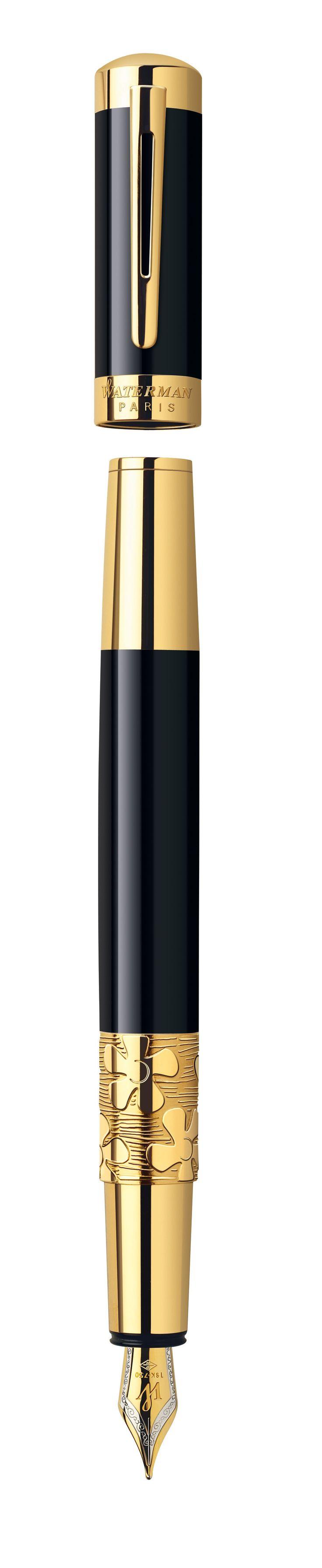 Stylo plume Waterman Élégance Noir GT | Syll Le leader européen du Stylos de Luxe