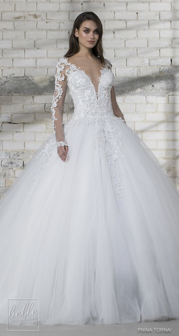 1c732fe8d4b3d Love by Pnina Tornai for Kleinfeld Wedding Dress Collection 2019 ...