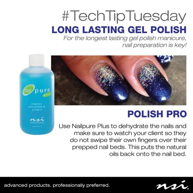 #TechTipTuesday For long lasting gel polish, nail prep is key! The nails pictured are a Polish Pro manicure after over 3 weeks of wear! Nails and Tip from Nails by Kristi Spencer at Bentley Hair Salon.