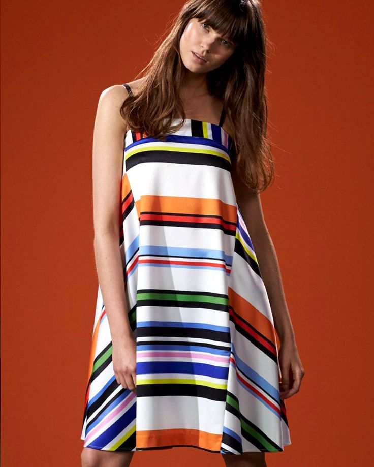 MULTICOLOR OVER DRESS #newin #ss15 #SpringSummer2015 #lookbook