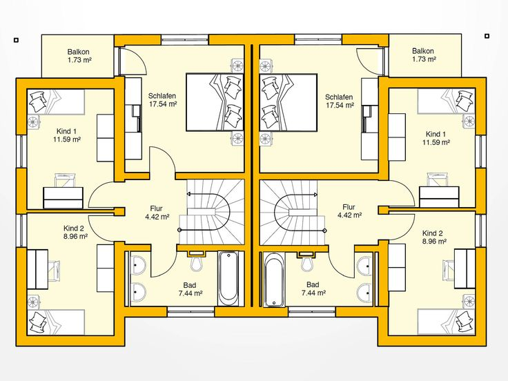 108 best Pläne images on Pinterest House floor plans, Floor plans