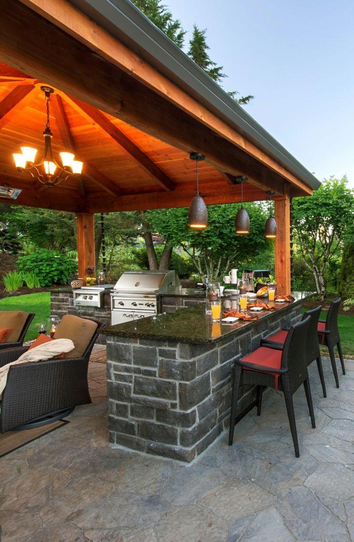 Outdoor Küche Macht Es Möglich Köstliches Essen Draußen Zu Genießen Renovating Advice Pinterest Kitchen Design And