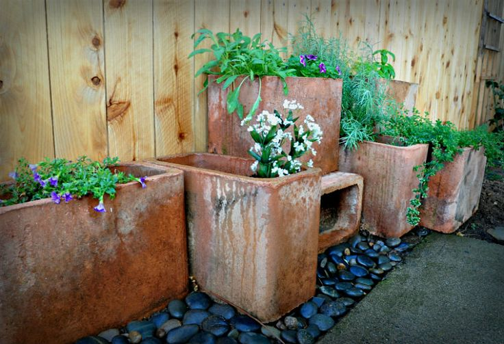 1000 Images About Clay Pipe Planter On Pinterest Roof