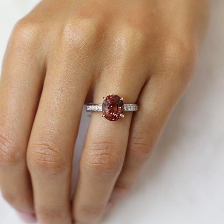 Tourmaline and diamond love // KL Diamonds