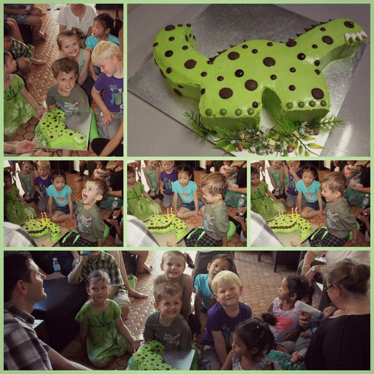 Dino Chocolate Melt Cake