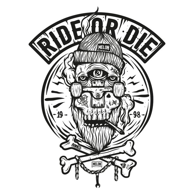 Ride or die second edition by piotr jakubowski my work for Ride or die tattoo designs