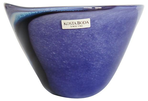 Midcentury Costa Boda Bowl from Sweden