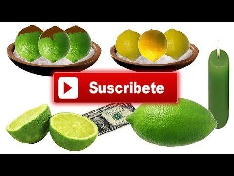 Rituales con limones para atraer buenas energias, SUERTE y dinero, INCRE...