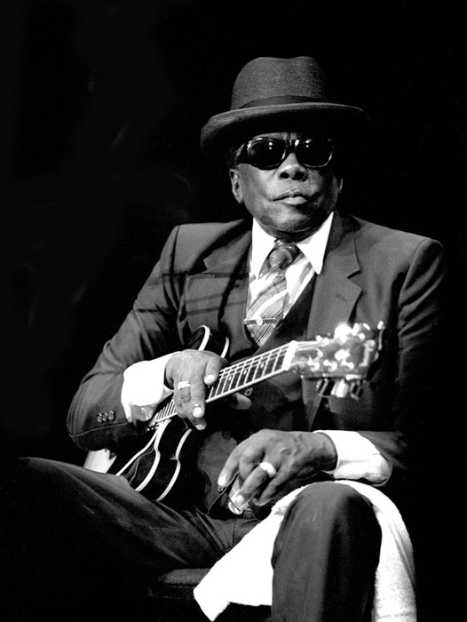 John Lee Hooker by Richard E. Aaron
