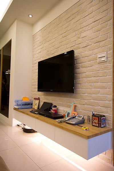 46 best tv wall design / 電視牆設計 images on pinterest | tv walls