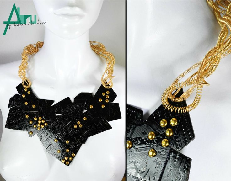 - Punk on board - necklace