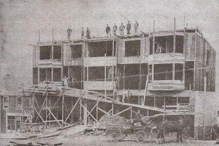 The Somass Hotel, Port Alberni, deconstructed 2014