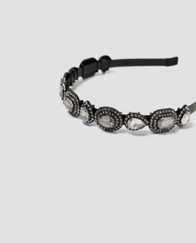 BEJEWELLED RIGID HAIRBAND-Jewellery-ACCESSORIES-WOMAN | ZARA United Kingdom