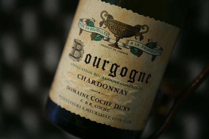 Bourgogne Chardonnay 2010. Domaine Coche-Dury. #cochedury #wine  #chardonnay #winelover
