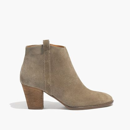 """The rich texture (thanks to soft suede) and walkable stacked heel mean this boot is never not perfect. Please note: When you select your size, """"H"""" equals a half size. <ul><li>Suede upper.</li><li>4 5/16"""" shaft height (based off size 7).</li><li>10 7/16"""" shaft circumference (based off size 7).</li><li>2 1/2"""" stacked heel.</li><li>Leather lining.</li><li>Man-made sole.</li><li>Import.</li></ul>"""