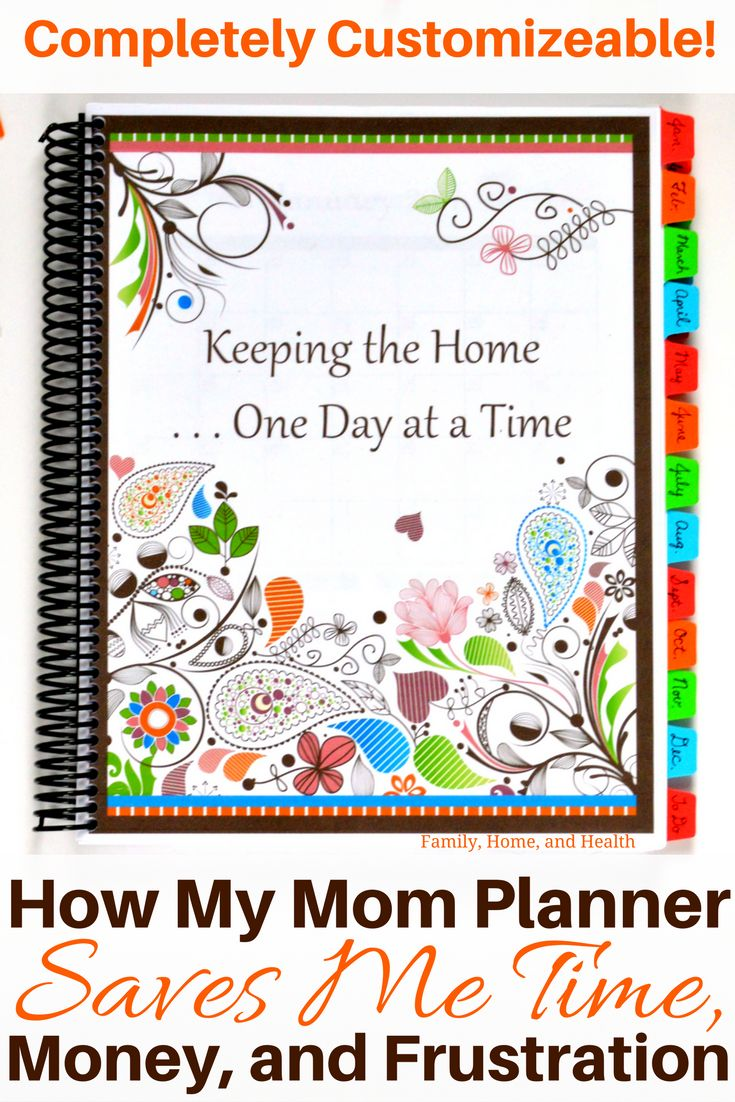 See how my mom planner saves me so much time, money and frustration! You can customize your own printable planner and choose the exact pages…