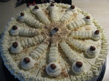 Nuss-Sahne-Torte - Rezept