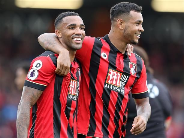 AFC Bournemouth have made two changes for this afternoon's match with Watford at Vitality Stadium