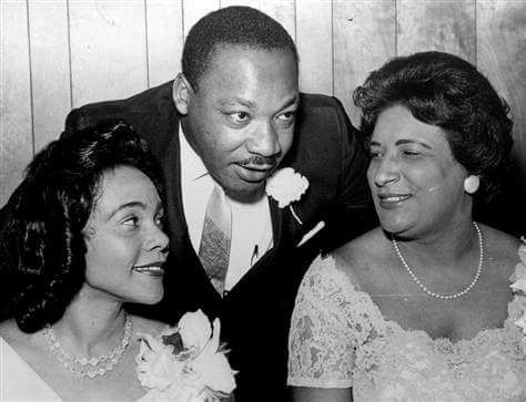 Dr Martin Luther King, Coretta Scott King, and Constance Baker Motley 1966