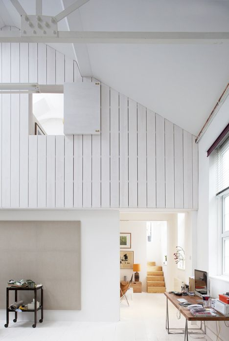 Architect Dingle Price revamped a warehouse in south London to create a bright spacious home.