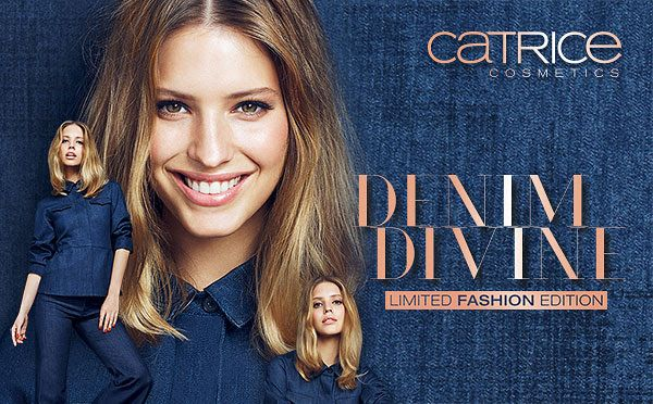 "Leah beauty : PRESS RELEASE Limited Edition ""Denim Divine"" by CA..."