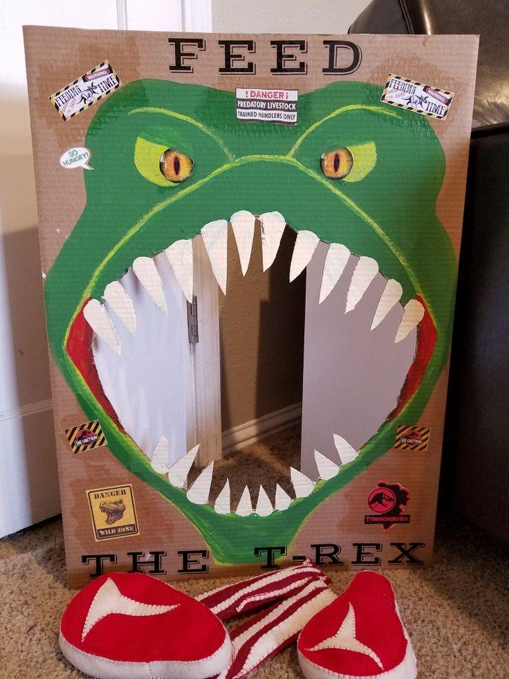 """Feed T-Rex """"Steak"""" Toss"""